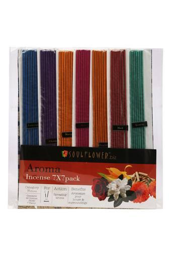 7 Fragrance Incense Sticks Pack of 49