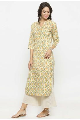 Women Floral Print Kurta and Palazzo Set