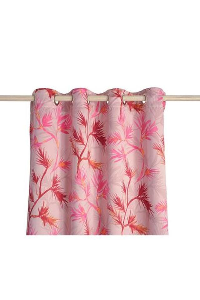 Leaf Printed Door Curtain