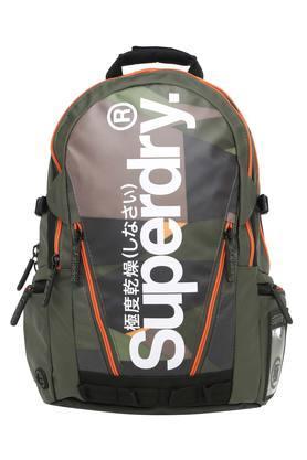 Mens 2 Compartment Zip Closure Backpack