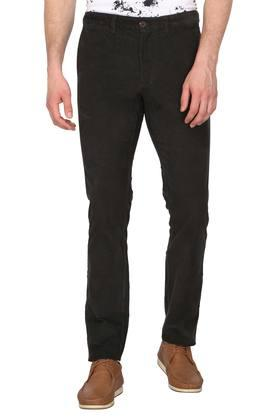 Mens 4 Pocket Mild Wash Trousers