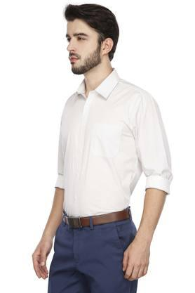 RS BY ROCKY STAR - White Formal Shirts - 2
