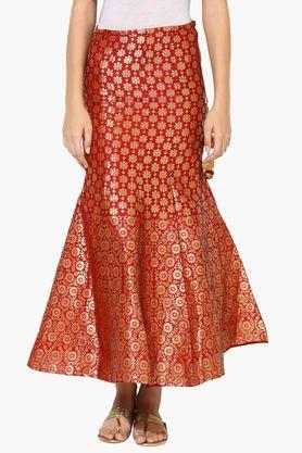 JUNIPER Womens Printed Flared Skirt - 203363054
