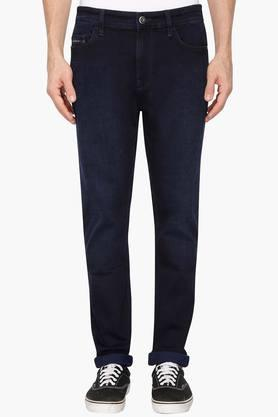 CALVIN KLEIN JEANSMens 5 Pocket Tapered Fit Rinse Wash Jeans