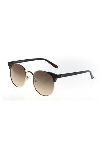 Womens Full Rim Round Sunglasses - 2040 C3 S