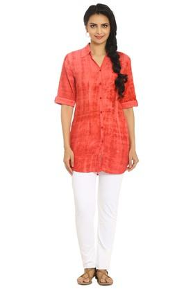 SOCHWomens Tie And Dye Shirt Style Kurta