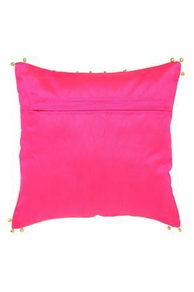 Square Puppet Printed Embroidered Cushion Cover