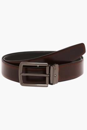 LOUIS PHILIPPEMens Leather Buckle Closure Formal Belt - 203097113