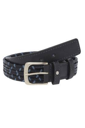 HIDESIGN Mens Synthetic Leather Buckle Closure Casual Belt