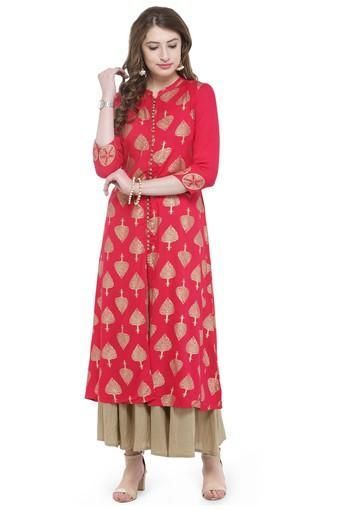 VARANGA -  PinkSalwar & Churidar Suits - Main