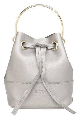 Womens Drawstring Closure Handbag