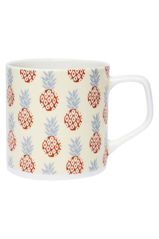 Round Puja Tropical Printed Mug - 200ml