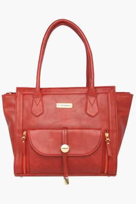 ELLIZA DONATEINWomens Casual Wear Zipper Closure Tote Handbag - 203261131