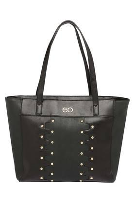 E2O Womens Zipper Closure Tote Handbag - 204276858_9212