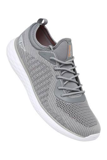 ATHLEISURE -  Grey Sports Shoes - Main