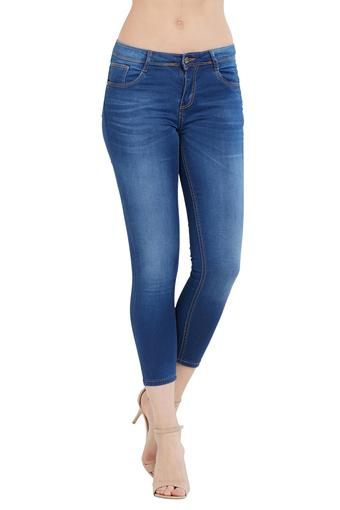 Womens Heavy Wash Jeans
