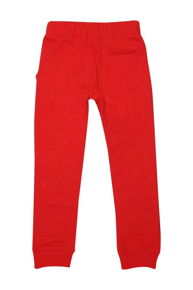 Boys 3 Pocket Solid Joggers