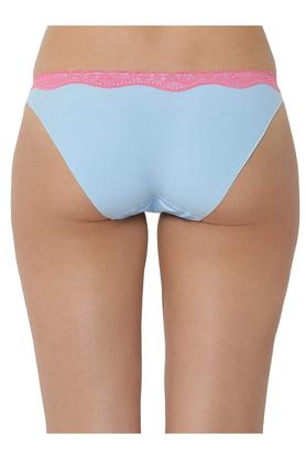 Womens Solid Lace Bikini Briefs - Pack of 3