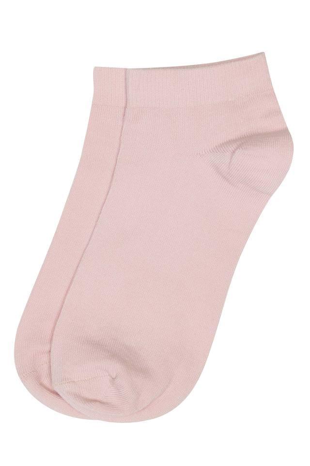 Womens Solid Socks