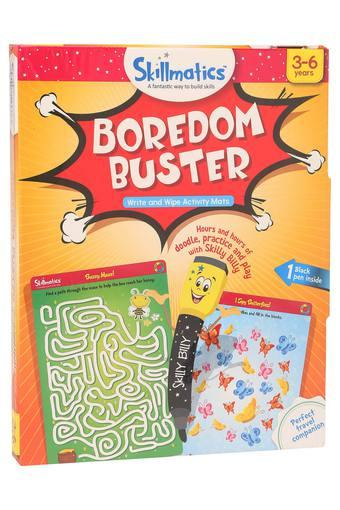 Unisex Boredom Buster Write and Wipe Activity Mats