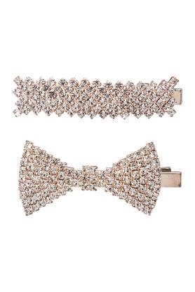 Girls Embellished Clip Pack of 2