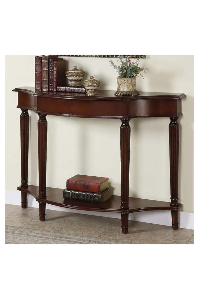 Brown Cyrus Console Table