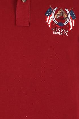 U.S. POLO ASSN. DENIM - Red Mix T-Shirts & Polos - 4