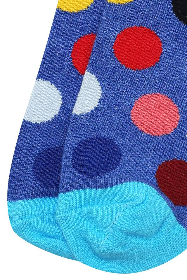 Mens Ankle Length Big Dots Socks