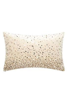 Embellished Textured Beads Cushion Cover
