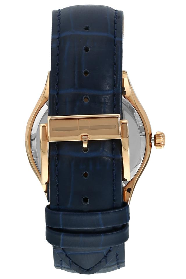 Mens Blue Dial Analogue Watch - 40037WL02E