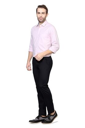 Mens 5 Pocket Exrtra Slim Fit Solid Chinos