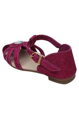 Girls Party Wear Velcro Closure Sandals