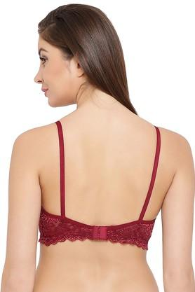 Womens Lace Non Wired Padded T-Shirt Bra