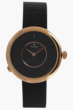 TITANWomens WE Black Dial Smartwatch - 90060WL02