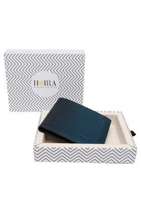HORRAMens PU Leather 1 Fold Wallet