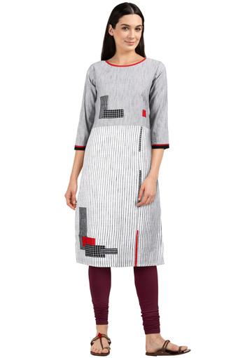 SOCH -  Grey Kurtas - Main