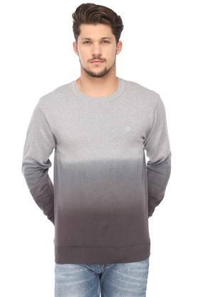 AEROPOSTALEMens Round Neck Colour Block Sweater