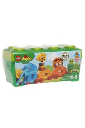 Unisex My First Animal Brick Box Building Blocks