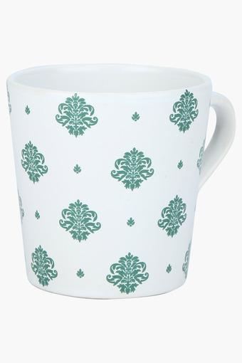 Round Ethnic Printed Coffee Mug - 175ml