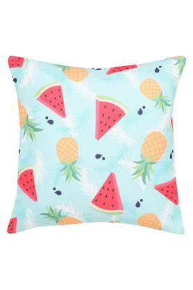 Square Tropical Fruits Printed Cushion Cover