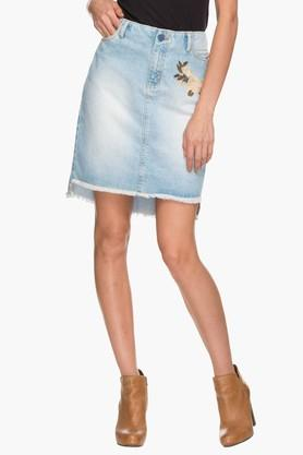 HAUTE CURRY Womens Assorted Short Skirt