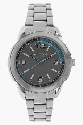 TITANMens Octane Grey Dial Analog Watch - NF1585SM03C