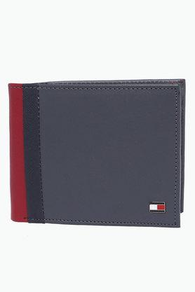 Mens Leather Single Fold Wallet