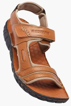 RED TAPEMens Leather Velcro Closure Sandals - 203095196_9124