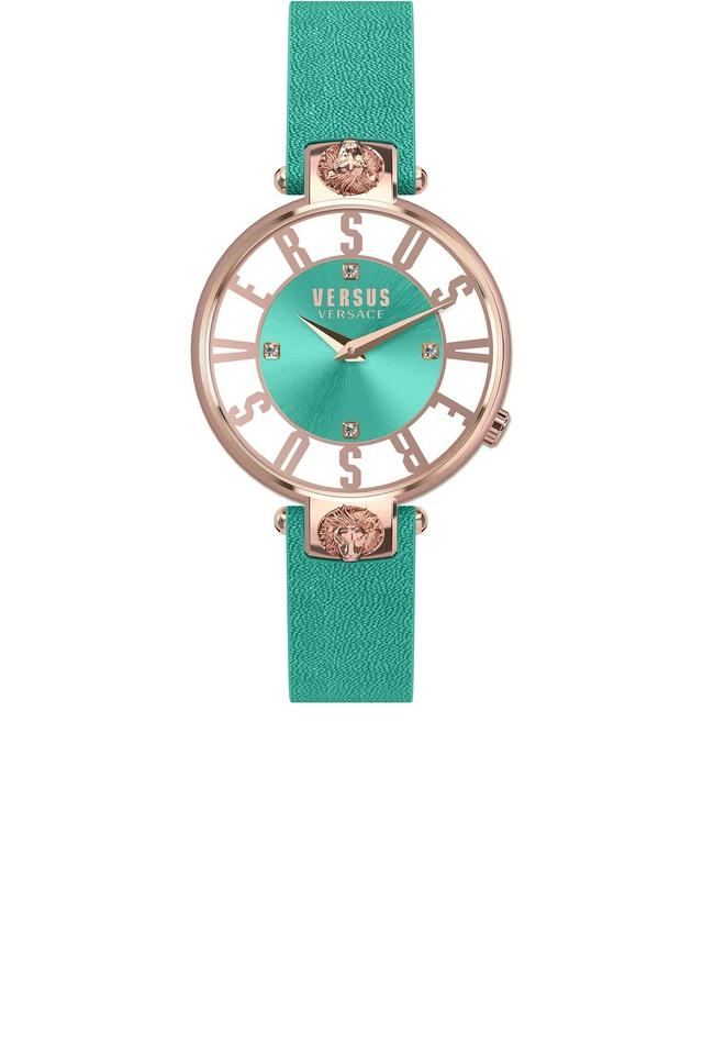 Womens Analogue Leather Watch