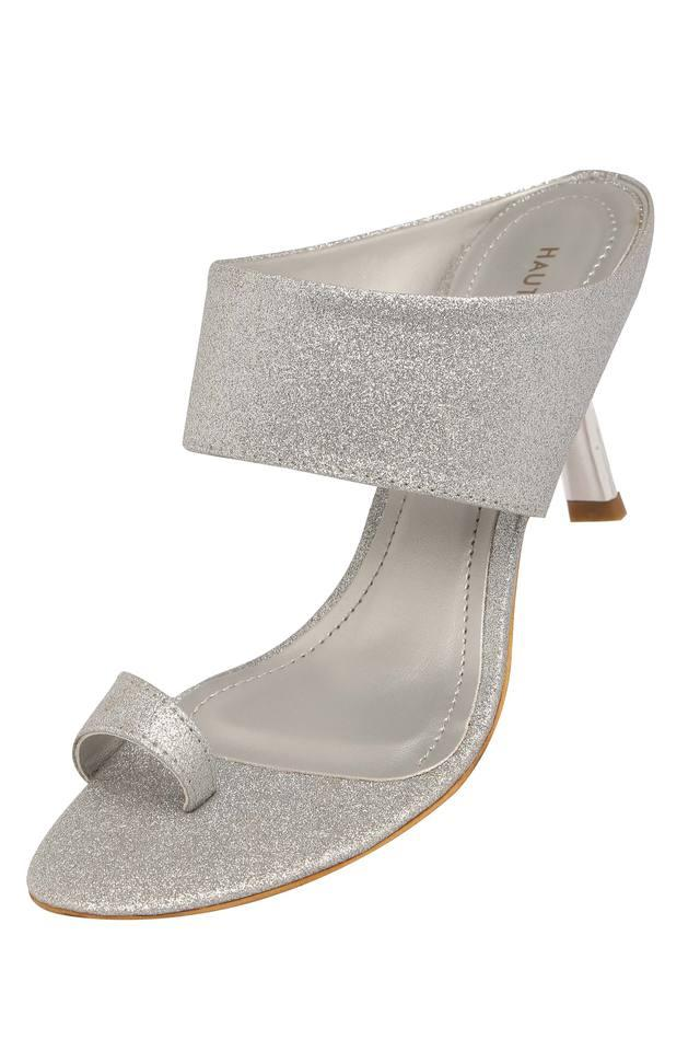 Womens Party Wear Slip On Heels