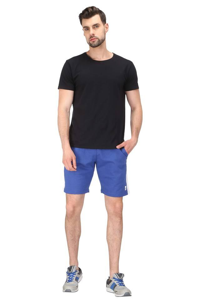 Mens 3 Pocket Solid Shorts