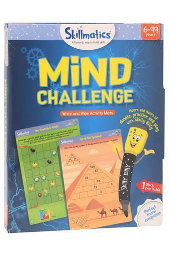 Unisex Mind Challenge Write and Wipe Activity Mats