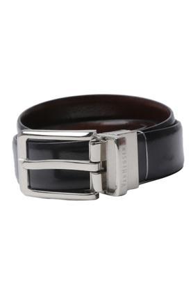 VAN HEUSENMens Leather Buckle Closure Formal Belt - 203721591