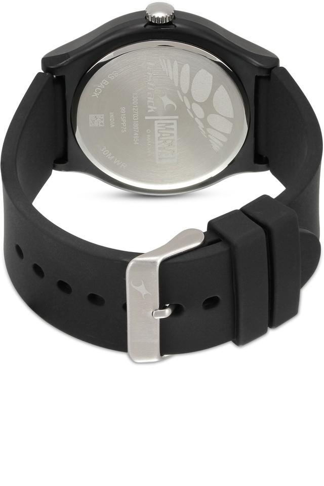 Unisex Analogue Silicone Watch